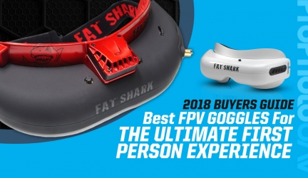 Best FPV Goggles For The Ultimate First Person Experience