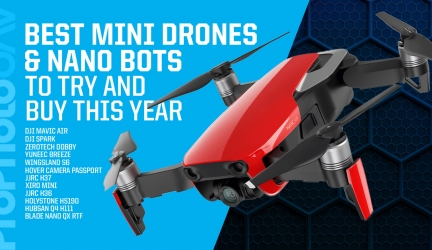 Best Mini Drones & Nano Flyers To Try And Buy This Year