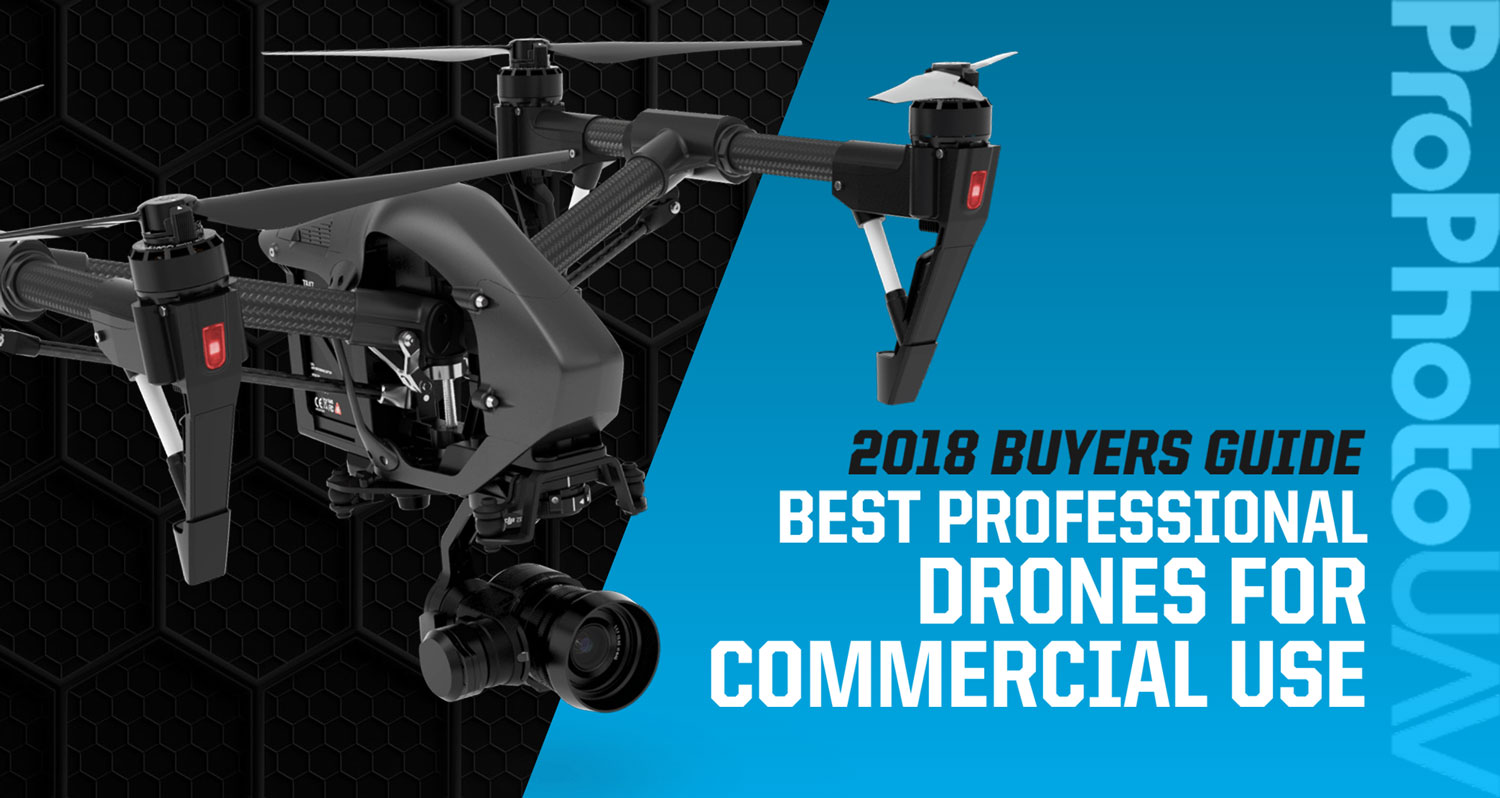 professional drones - best commercial